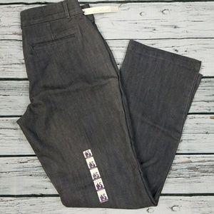 NWT Gloria Vanderbilt straight leg stretch pants